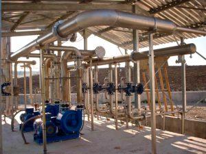 Zabarella Srl, tubazioni aspirazione e mandata biogas